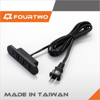 220V VDE industrial power supply extension cord
