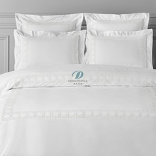 Deeda fabbrica di qualità di lusso 5 stelle 100% cotton hotel room lino <span class=keywords><strong>tessile</strong></span>