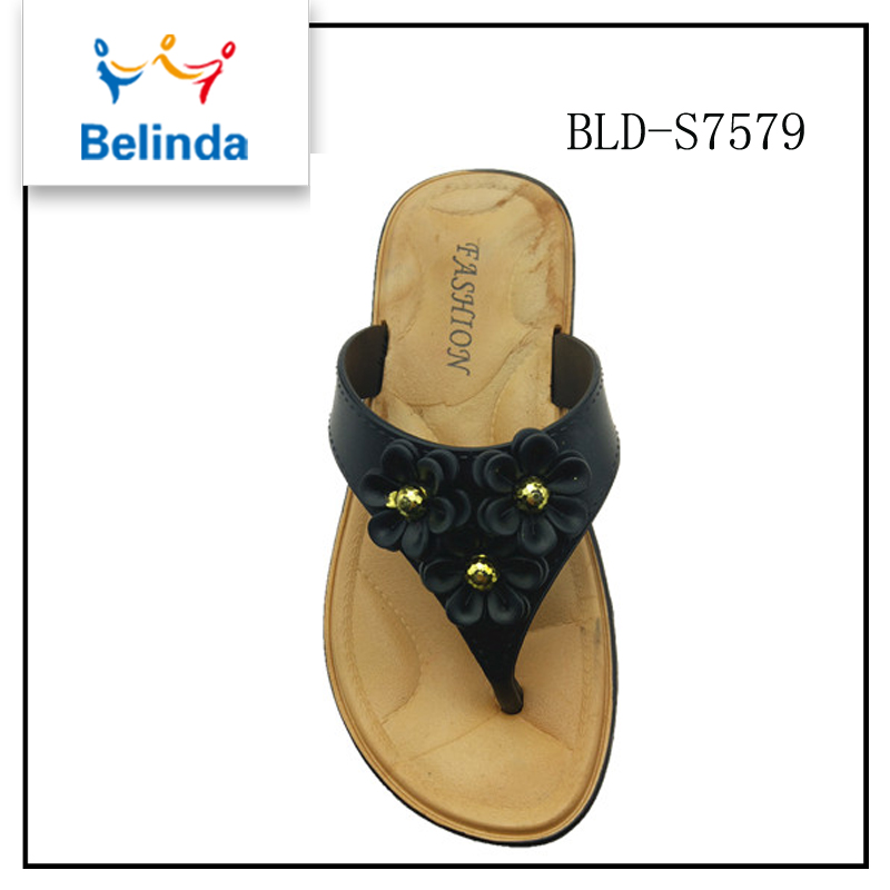 custom pvc air blow flip flops women shoes thailand with low price