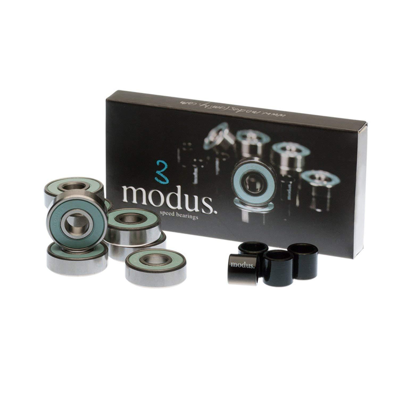 Modus Bearings 8mm ABEC 3 Skateboard Bearings
