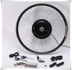 Electric bike gearless motor conversion kits hub motor