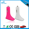 Single usb port 5v 2.1a mini car charger with led light for cell phones
