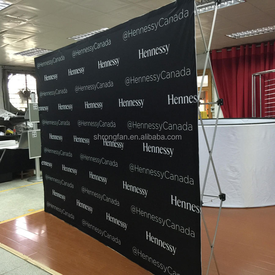 Online Wholesale Cheap Pop Up Step And Repeat Backdrop Banner For Trade Show
