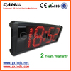[Ganxin] 8'' 4 Digit Promotional Large Size Led Wall Clock