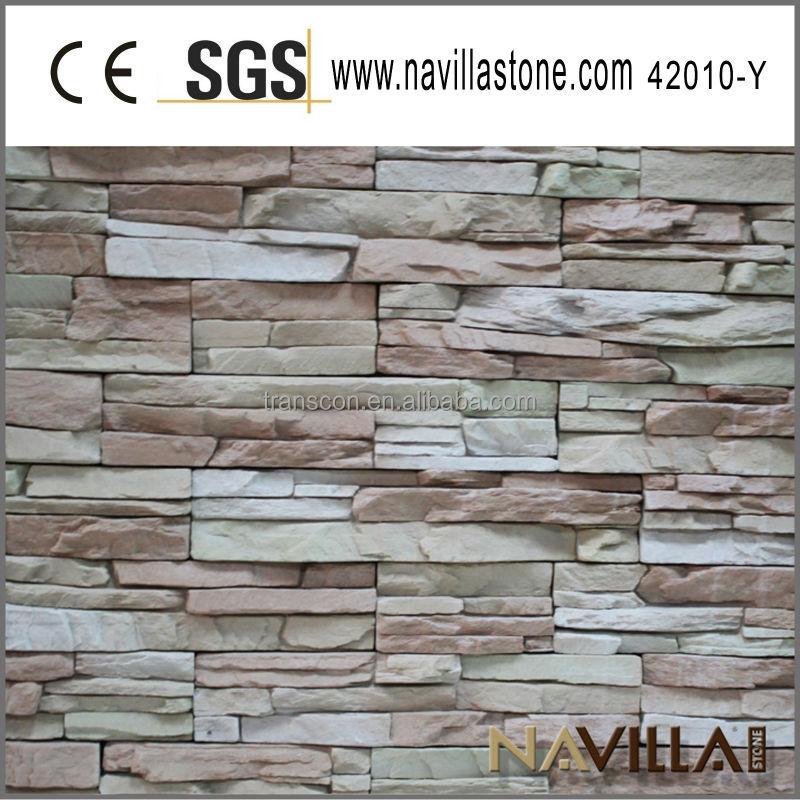 Panel de piedra artificial excellent panel de piedra for Piedra artificial decorativa