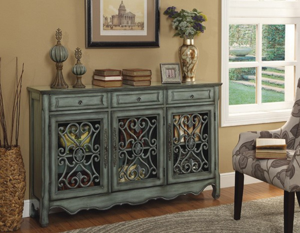 american style blue farbe durchbrochene shabby chic. Black Bedroom Furniture Sets. Home Design Ideas