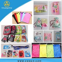 Customize any size sublimation printing microfiber glasses pocket With Promotional Price