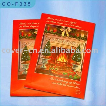 Novelty Christmas Gift and Promotion Music Greeting Cards