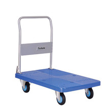 Folding small hand industrial trolley cart