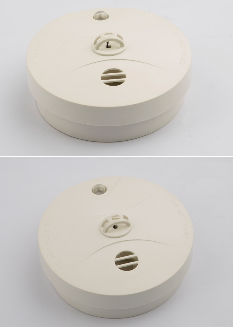 Battery Powered Home Sound Smoke Detector Fire Alarm With For Sensor This Is The Circuit 5 Case On Back Of Easy Removal 6 Smd Board Design Satisfactory