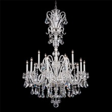 JANSOUL top pure transparent crystal with chrome metal cristal chandelier pendant lamp