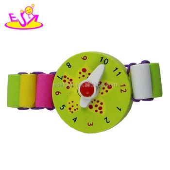 Juguete Nuevos Madera Popular Niños Niños Reloj reloj W08k017 Buy De Moda Para 8nOP0wk