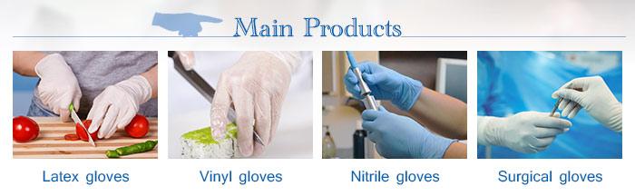 Guantes medico de nitrilo handschoenen werk nitril
