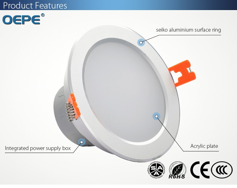 buy online 80283 f514a Diameter 180mm 12w Recessed Led Downlight 150mm Cutout - Buy Downlight,Led  Downlight,Led Downlight 150mm Cutout Product on Alibaba.com