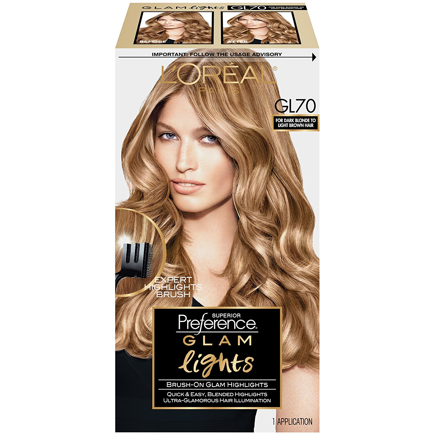 Buy Loreal Paris Superior Preference Glam Lights Highlights Gl70