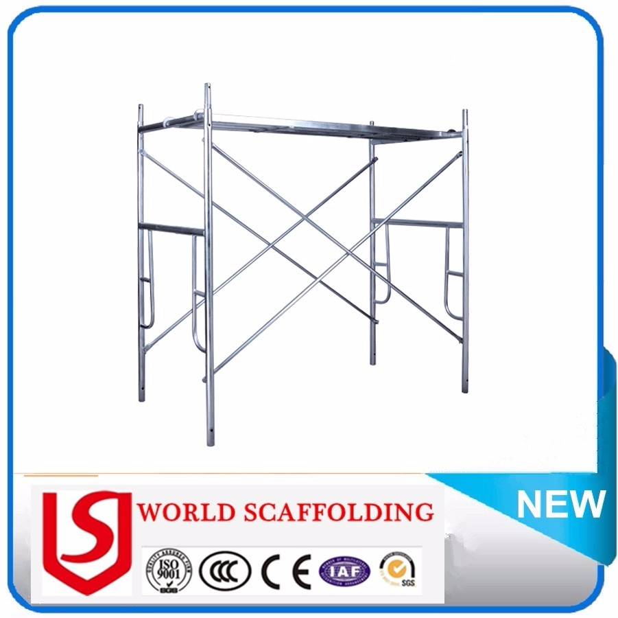 Building Construction Company Hot Sell Drop Lock Walk Through h Frame / H Frame Scaffolding Parts For Sale