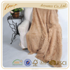 high quality 100% polyester faux fur blanket fabric blanket