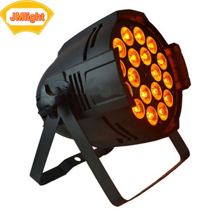 Wholesale Chinese Stage Lighting 6in1 RGBWAUV 18x18w LED Par 18pcs 18w RgbwaUV 6in1 Par 64 Led Light Disco