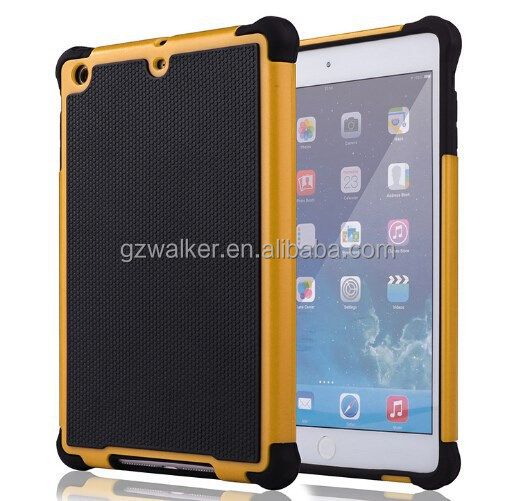 Hot Selling Factory Prices Fashionable Design Rugged Case with Football Lines for ipad mini ipad mini 2, Cover Case