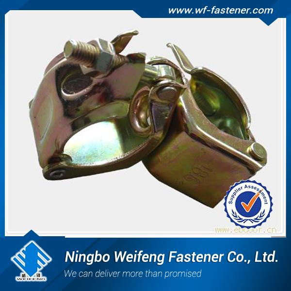 scaffolding coupler joint fastener clamp swivel coupler ,steel pipe clip fixing clamp