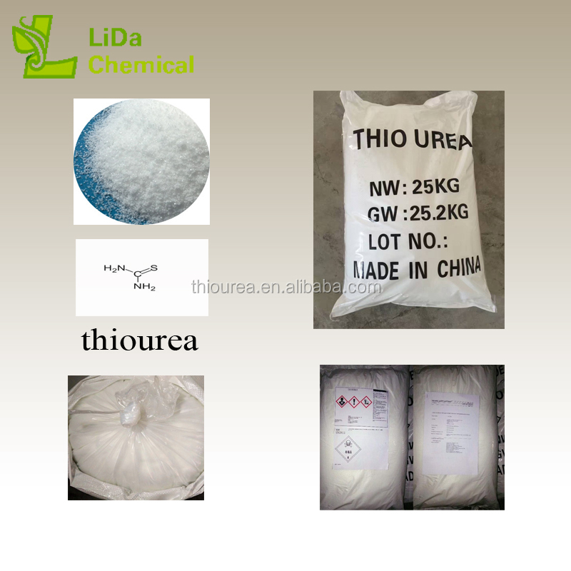 Good source of materials factory supply thiourea uses used for organic synthesis