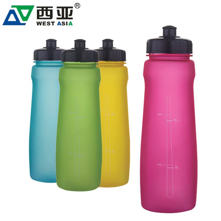 Eco-Friendly Reclaimed Material Plastic Sports Water Bottle