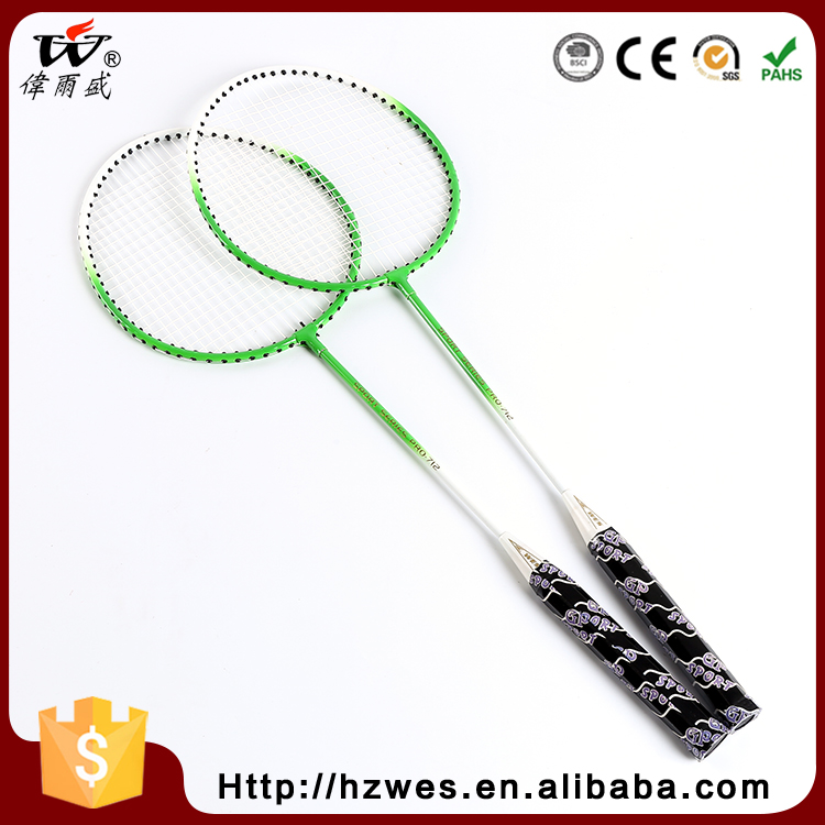 Professional Design ISO9001 OEM ODM Iron Badminton Racket with T Joint