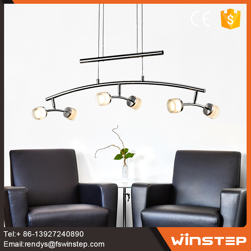 Fashionable LED2835 Iron suspension and pendant combo light