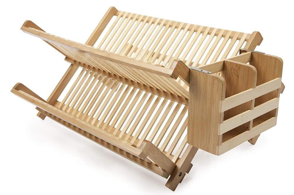 bamboo dish drying rack BR-18070617 Details 3