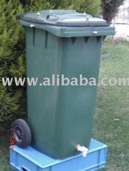 yesil adim bokashi industrial compost bin 120 liter. Black Bedroom Furniture Sets. Home Design Ideas