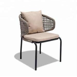 Outdoor Rope Single Chair of Polyester fabric Furniture