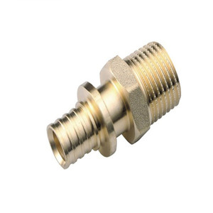 Factory Nickel Plated PEX Pipe Connecting Brass Fitting