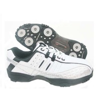 Wholesale cheap outdoor sport leather golf shoes for men