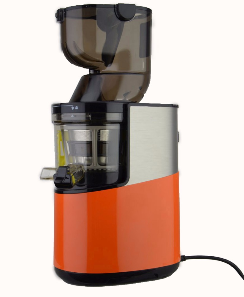 2017 Hot Koop Slow Juicer Hele Trage Masticating Juicer Extractor Rvs Oranje Slow Juicer voor Europa