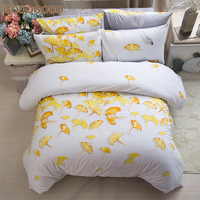 Factory Price 60S Hypoallergenic 6Pcs Super Soft King Size 100% Cotton Bedding Comforter Sets