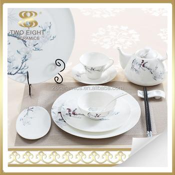 Handmade pottery porcelain country style dinnerware set 72 pcs dinner set  sc 1 st  Alibaba & Handmade Pottery Porcelain Country Style Dinnerware Set 72 Pcs ...
