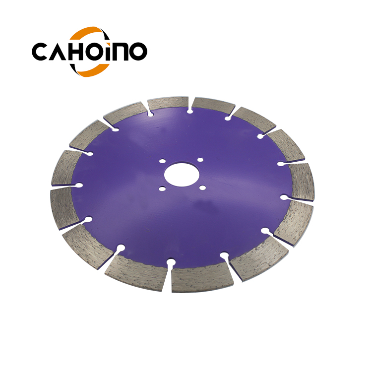 9in 230mm Diamond Cutting Disc Diamond Segment Saw Blade For Granite