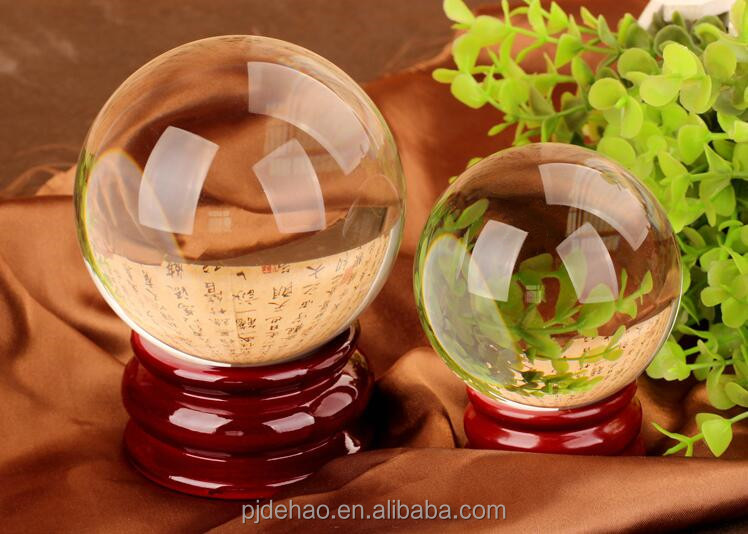 Nice Crystal Clear Ball Large Crystal Ball 100mm 150mm 200mm 300mm 500mm Globe Ball