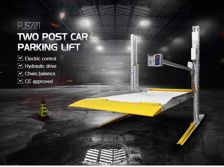 used two post home smart hydraulic garage car lift for sale