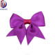 Wholesale grosgrain ribbon cut the dovetail gift ribbon bow purple grosgrain ribbon bow