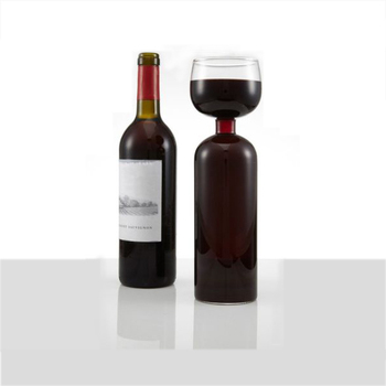 Wholesale 750ml unique shaped red wine glass bottle buy for Red glass wine bottles suppliers