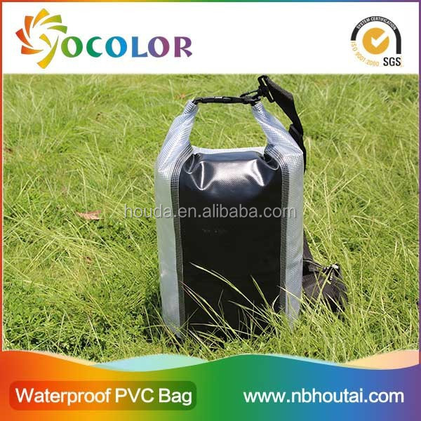 Newest Design Pink Waterproof Custom Logo Dry Bag 20l With A Clear Window for outdoor sports