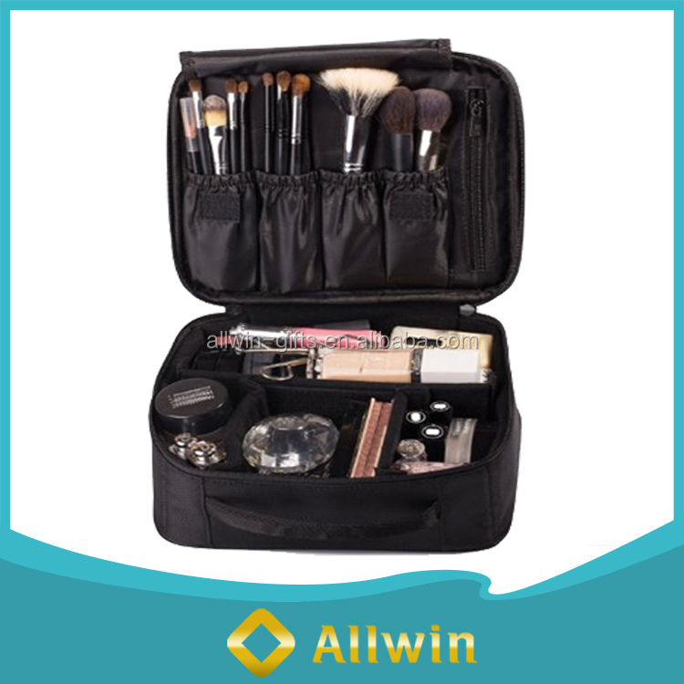 Cheap Multi-functional 600D Travel Handy Make Up Cosmetic Bag