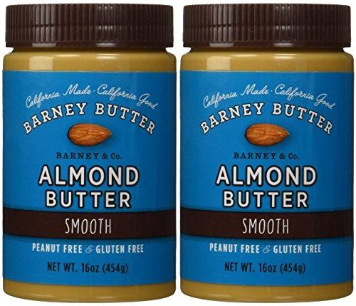 Barney Butter Smooth Almond Butter, 16-Ounce Jars (Pack of 2)