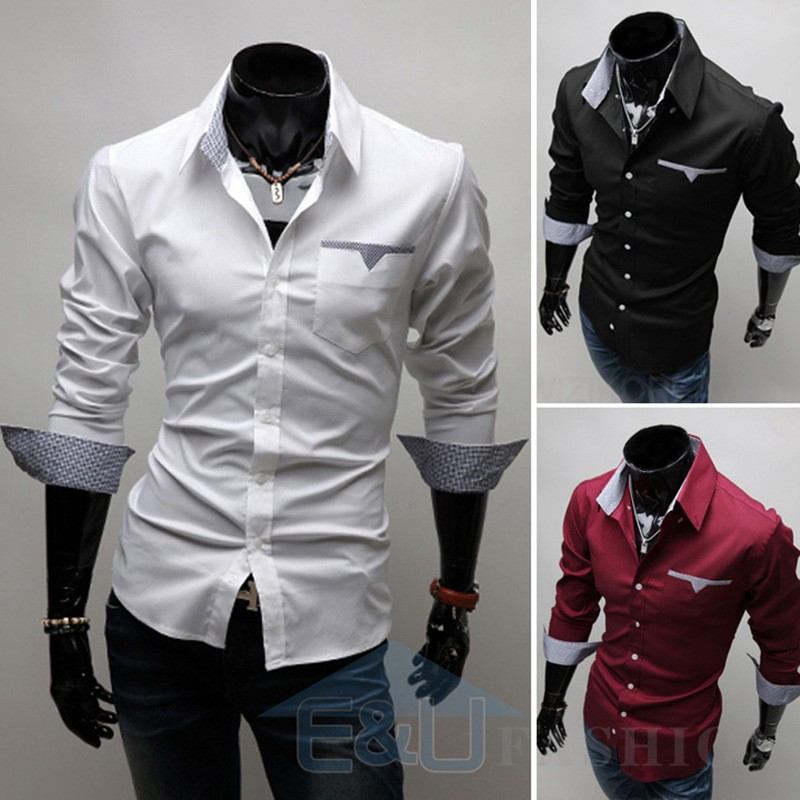 Latest Fashion Design Tailored Custom Casual Shirts For Men - Buy ...