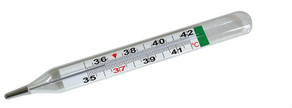 termometro a mercurio