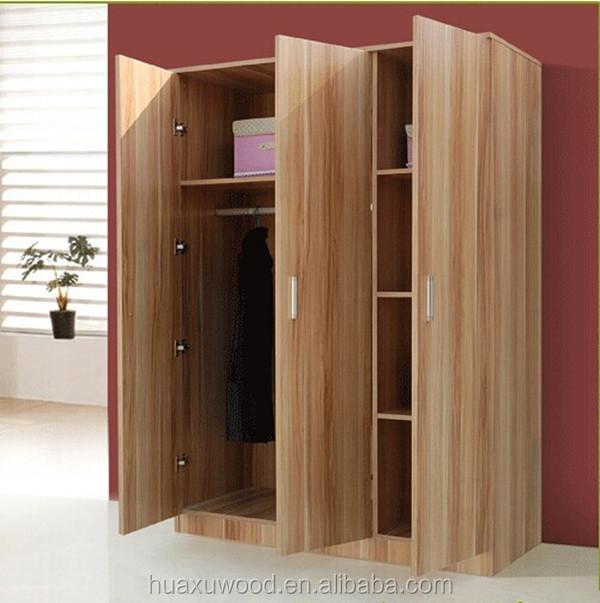 Hx Mz792 Teak Wood Three Door Wardrobe Buy 3 Door Wardrobe 3 Door Clothes Cabinet 3 Door Garment Cabinet Product On Alibaba Com