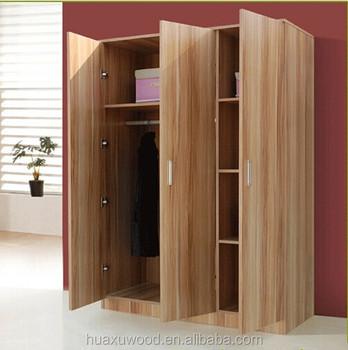 HX-MZ792 teak wood three door wardrobe & Hx-mz792 Teak Wood Three Door Wardrobe - Buy 3 Door Wardrobe3 Door ...