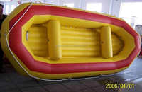 Exciting Summer inflatable white water rafting/ inflatable raft boat for drifting