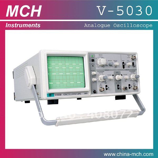 MCH-V5030 30MHz AC 110V/220V optional analog Oscilloscope, View low cost  oscilloscope, MCH Product Details from MCH Instruments Co , Ltd  on